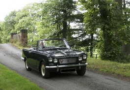 1966 Triumph Vitesse Six 1600 convertible 53,000 miles from new