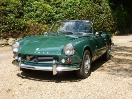 1965 Spitfire Mk 2 unrestored with 37,000 genuine miles