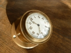 Fabulous c1920 Stamped Rolls Royce dashboard/desk clock in Brass Swiss movement £145
