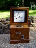 From one of the South's oldest garages. Working National recorder clock c1940 SOLD