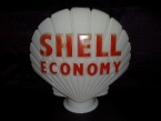 Shell Economy Glass globe by Hailware SOLD