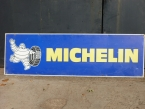 "Large metal Michelin Tyres sign 66"" x 20"""