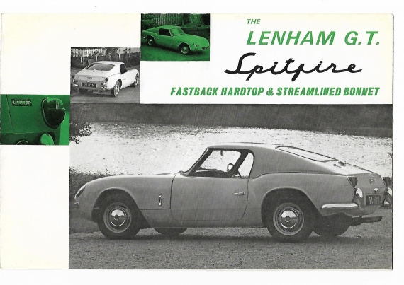 The original Lenham GT Fastback Spitfire 1963