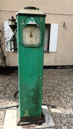 1930 Avery Hardoll 288 electric petrol pump restored to choice of brand SOLD
