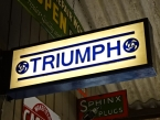 1970's Original Leyland Triumph dealership light box double sided