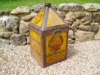 Shell 5 Gallon pyramid oil can SOLD